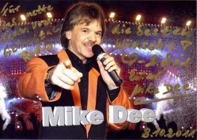 Mike Dee (aus Hamburg) !